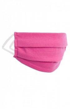 Dwuwarstwowa maseczka dziecięca różowa