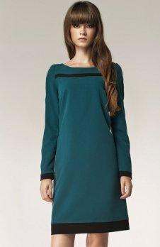 Nife S40 sukienka zielona