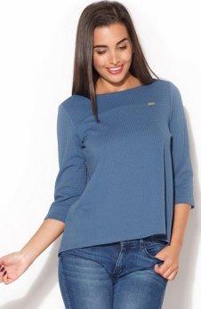 Katrus K136 bluzka niebieska