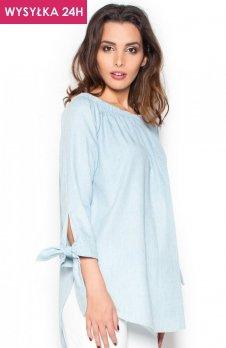 *Katrus K377 koszula błękitna