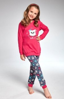Cornette Kids Girl 977/103 Owl piżama