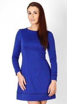 Vera Fashion Sylwia sukienka chabrowa