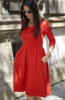 Numinou NU58 sukienka czerwona