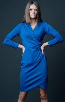 Vera Fashion Rebeka sukienka chabrowa