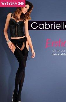 Gabriella Erotica Strip Panty Micro Code 638 rajstopy