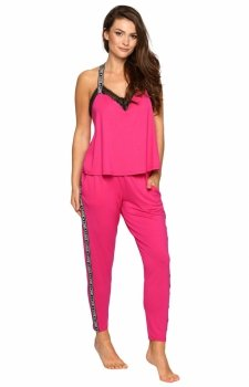Pigeon P-695/2 różowa piżama damska