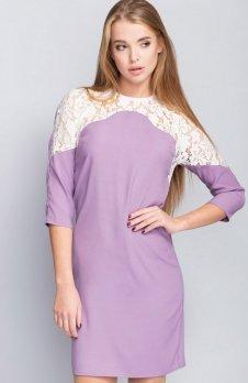 Cover ММ1093 sukienka liliowa