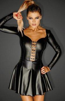Mini sukienka erotyczna F124