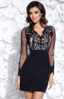 Bicotone 2159-06 sukienka czarna