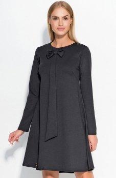 Makadamia M320 sukienka czarna