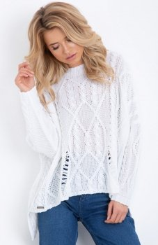 Fobya F625 sweter biały