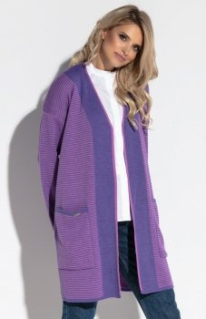Fobya F570 sweter fioletowy