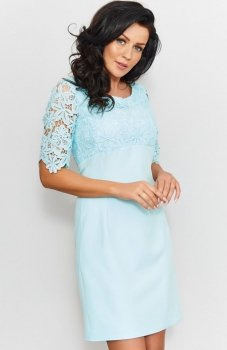 Roco 0205 sukienka miętowa