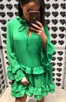Lola Fashion Spanish sukienka zielona