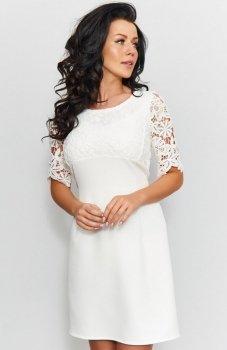 *Roco 0205 sukienka ecru
