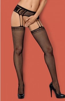 Obsessive Garter stockings S227 pończochy