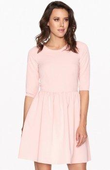 Lapasi L005 sukienka pudrowy róż