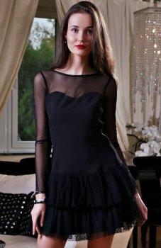 Roco 0228 sukienka czarna