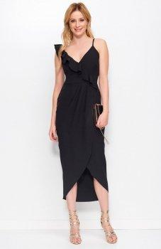 Makadamia M396 sukienka czarna