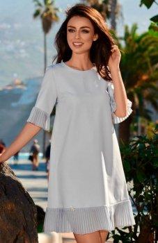 Lemoniade L243 sukienka szara