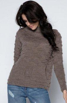 Fobya F486 sweter mocca