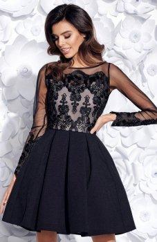 Bicotone 2157-06 sukienka czarna