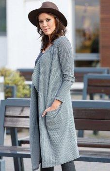 Lapasi L029 sweter szary