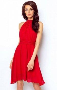 Ivon Livia sukienka czerwona