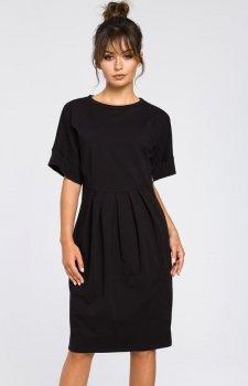 BE B045 sukienka czarna