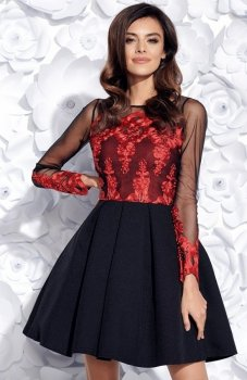 Bicotone 2157-12 sukienka czarna
