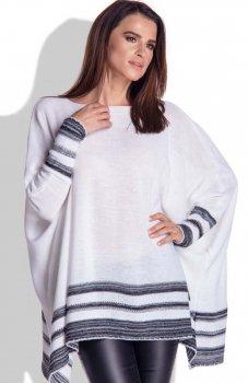 FIMFI I151 sweter biały