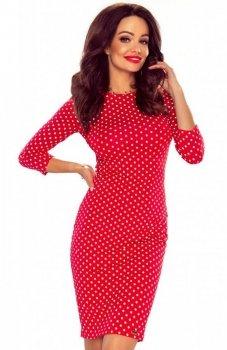 Bergamo Eleonora sukienka czerwona