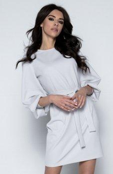 Fobya F495 sukienka szara