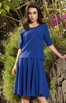 *Lemoniade L237 sukienka chabrowa