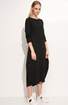 Makadamia M337 sukienka czarna