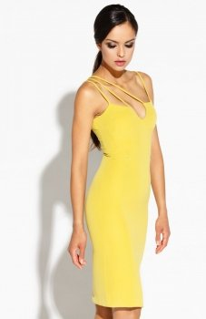 Dursi Royale sukienka żółta