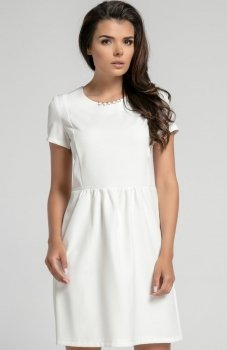 Nommo NA568 sukienka ecru