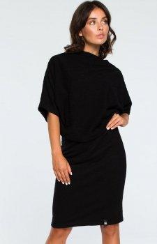 BE B097 sukienka czarna