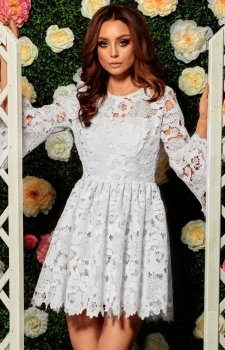Lemoniade L262 sukienka ecru