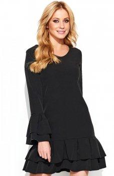 Makadamia M439 sukienka czarna