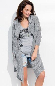*Numinou S10 sweter ciemny szary