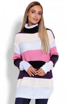 PeekaBoo 40012 sweter golf multikolor