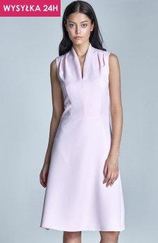 *Nife S74 sukienka różowa