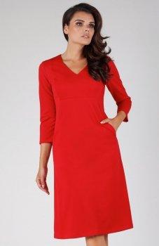 Nommo NA329 sukienka czerwona