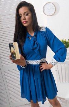 Lola Lena sukienka chabrowa