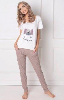 Aruelle Woof piżama długa