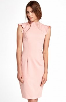 Nife S102R sukienka różowa