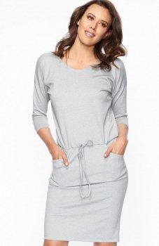 Lapasi L021 sukienka szara