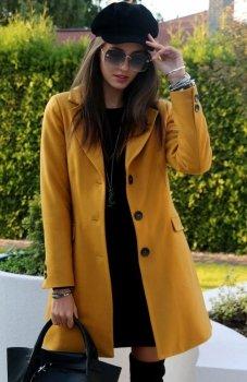 Roco P006 płaszcz musztardowy