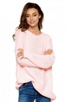 Lemoniade LS218 sweter pudrowy róż